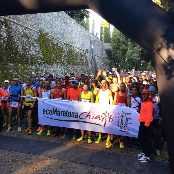 Ecomaratona Partenza Brolio