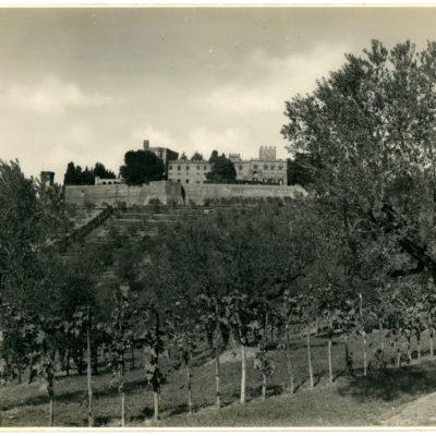 Castello di Brolio foto 1930 circa