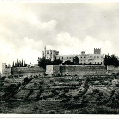 Castello di Brolio foto del 1940 circa
